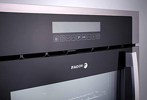 6HA-200TRX 24'''' European Convection Wall Oven with Right Hinge 10 Cooking Programs LED Touch Control and High Energy Efficiency in Stainless Steel by Fagor (Image #3)