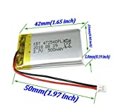 Be oneself 3.7V 500mAh Lithium Polymer mini