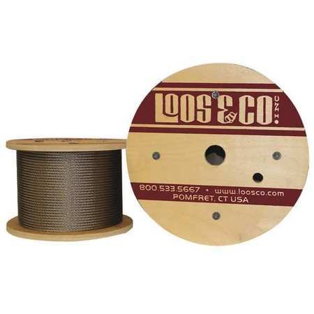 Loos - SC09479 - Cable, 50 ft. L, 3/32 in, 184 lb.