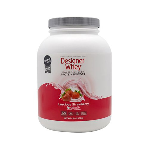 4.4 Lb Strawberry (Designer Whey Protein - Strawberry - 4.4 Lb. , Designer Whey , Energy Bars/Shakes,)