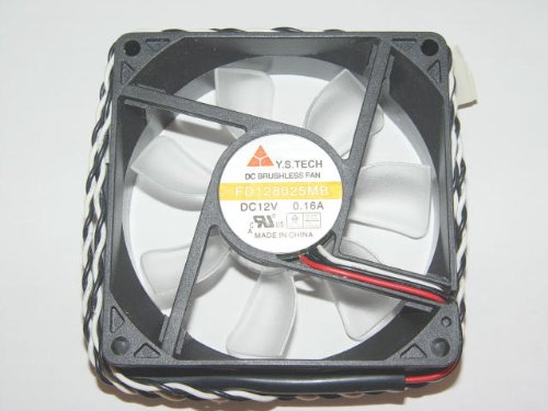 Y.S.TECH 8025 FD128025MB 12V 0.16A Power Cooling Fan by General (Image #2)