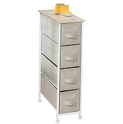Amazon.com: Hebel Narrow Vertical Dresser Storage Organizer ...