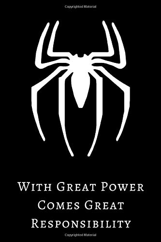 Amazon.com: With Great Power Comes Great Responsibility ...