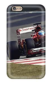 New Tpu Hard Case Premium Iphone 6 Skin Case Cover(two F1 Cars On Track)