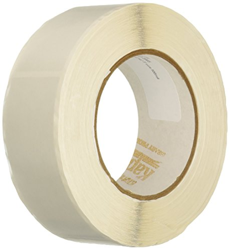 Kapco Vinyl Label Protectors, Round, 1-1/2 x 4 Inches, Clear, Pack of -