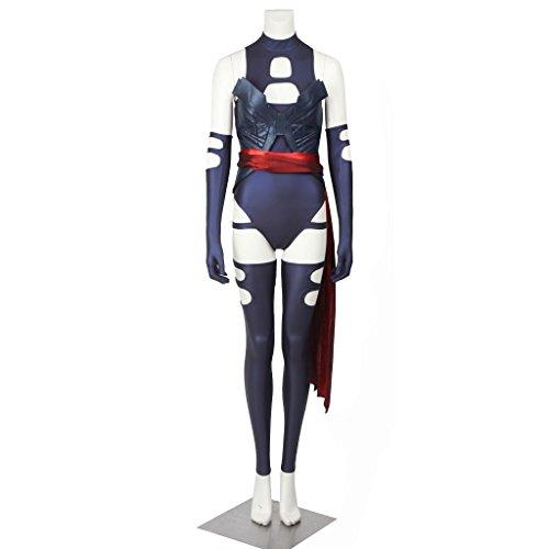 Psylocke Cosplay Costume (CosplayDiy Women's Suit for X-Men Apocalypse Psylocke Cosplay Costume CM)