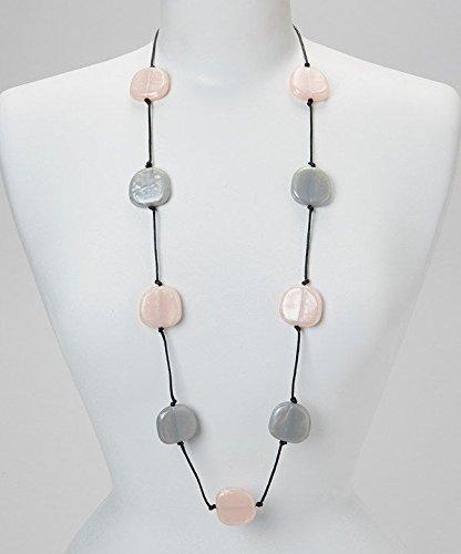 Teethease Livy - Pink/Grey by Teethease   B00O3PMJJI