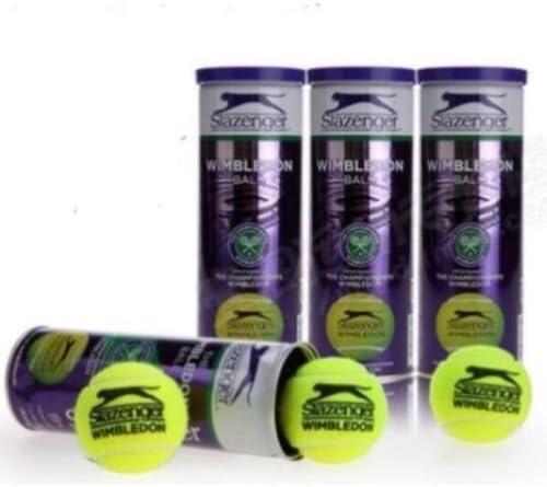 Slazenger Pelotas de Tenis de Wimbledon - 6 docena - 24 x 3 Bola latas