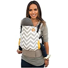 Tula Ergonomic Carrier - Gray Zig Zag - Toddler by TULA