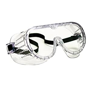 Economy Perforated Safety Goggle Small Size