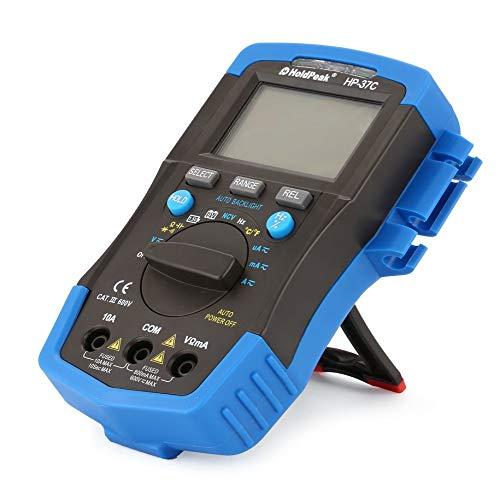 Digital Multimeter, RuoShui 60B+ 1000V Digital Auto Range Insulation Resistance Meter Tester Megohmmeter Megger High Voltage LED Indication