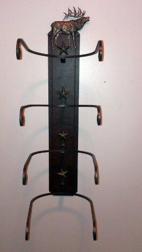 American Made Cowboy Hat Holder Elk