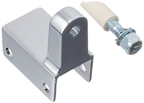 Sentry Supply 656-8843-T Post Mounted Gravity Pivot Hinge, 1In, Zamak, Chrome, 1/2In Pintle, Bottom, Pack of 1 by Sentry Supply
