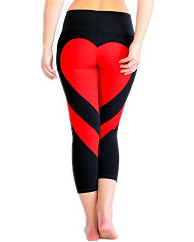 Huiyuzhi Womens Heart Fitness Leggings product image