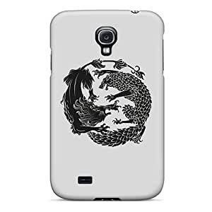 Series Skin Case Cover For Galaxy S4(lion Vs Wolf)
