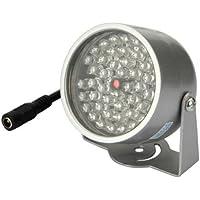 48 LED Lampe illuminateur IR CCTV caméra de sécurité infrarouge Nuit Vision