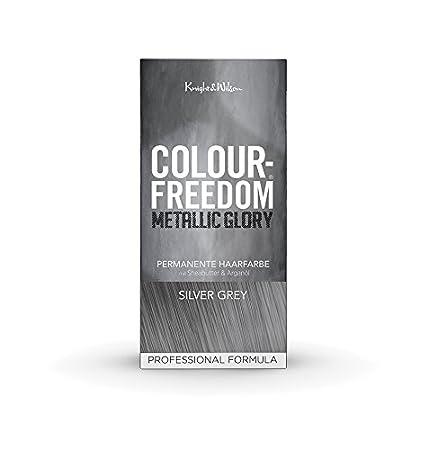 Colour-Freedom Metallic Glory Silver Grey permanente Haarfarbe ...
