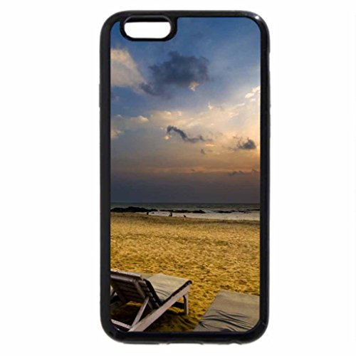 iPhone 6S / iPhone 6 Case (Black) Sunset Over The Islands
