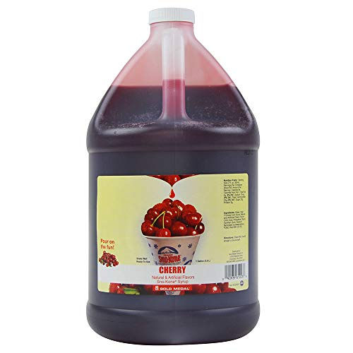 (Sno-Kone Syrup, Cherry 1Gallon)