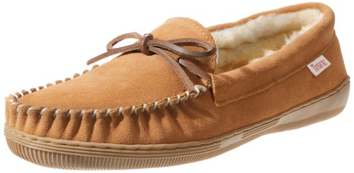 Tamarac by Slippers International 7161 Men's Camper Moccasin,Tan,10 M US
