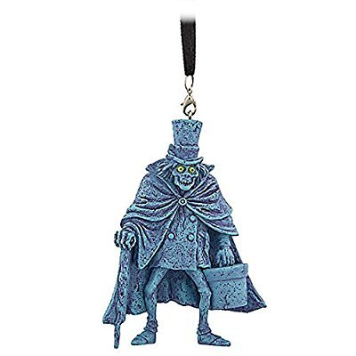 Disney Haunted Mansion Hatbox Ghost Ornament