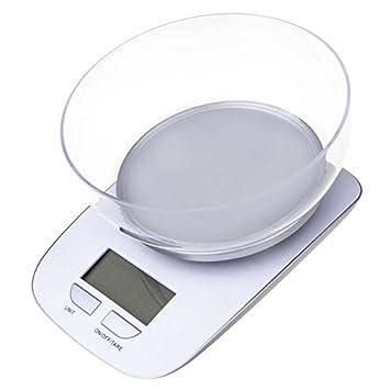 Bascula Balanza de Cocina para pesar Alimentos Multifuncional Digital 5Kg EV017: Amazon.es: Electrónica