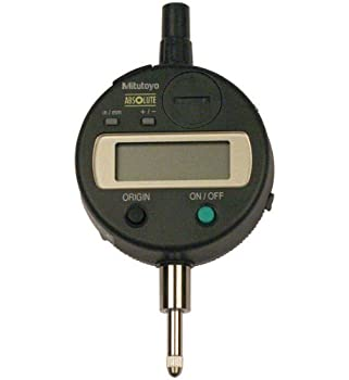 "Mitutoyo 543-683B Absolute LCD Digimatic Indicator ID-S, #4-48 UNF Thread, 0.375"" Stem Dia., Flat Back, 0-0.5""/0-12.7mm Range, 0.0005""/0.01mm Graduation, +/-0.0008"" Accuracy"