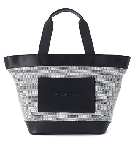 Sac shopping Alexander Wang Tote noire et blanche