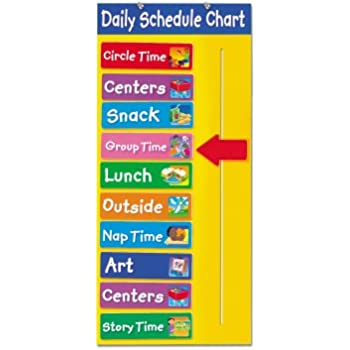 daily schedule chart
