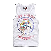 E1SYNDICATE TANK TOP T-SHIRT LOS POLLOS HERMANOS BREAKING BAD HEISENBERG