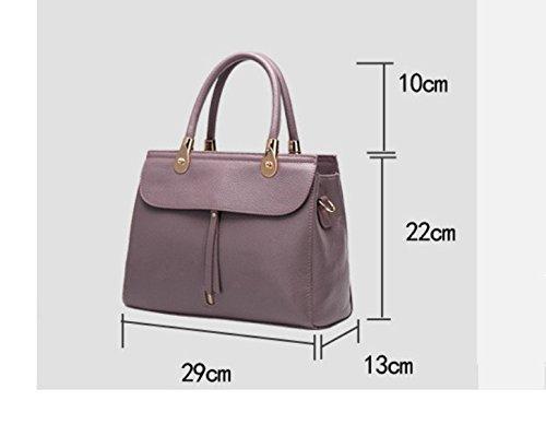 Bolsa Moda Señoras Práctico Temperamento Minimalista Spanning GWQGZ Bolso Sesgar Violeta Violet 8gwx4qq