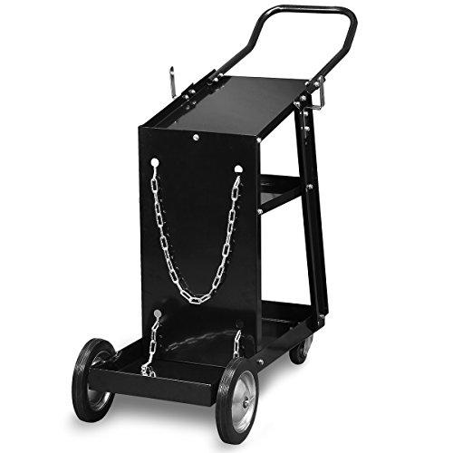 XtremepowerUS HD Welding Cart Universal MIG MAG ARC TIG Machine Welders Home Garage Shop + Safety Chain by XtremepowerUS (Image #1)
