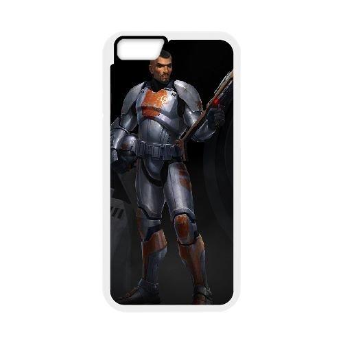 Star Wars The Old Republic 7 coque iPhone 6 4.7 Inch cellulaire cas coque de téléphone cas blanche couverture de téléphone portable EEECBCAAN00659