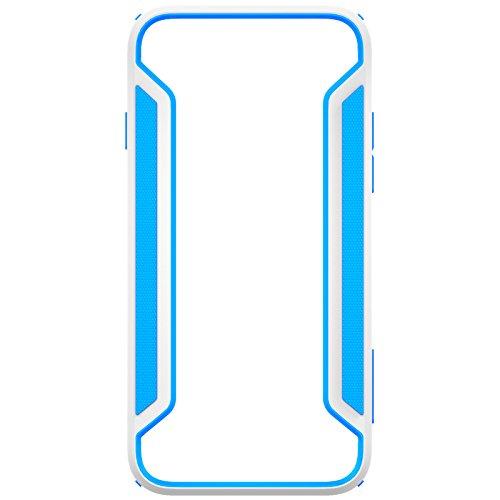 Nillkin Frame Case Cover Rüstung conque Slim Decke Rand Schutzhülle für Apple iPhone 6(4.7Zoll), blau/weiß