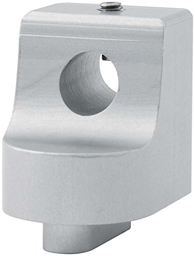 Allstar ALL54268 Silver Anodized Throttle Bracket Replacement End for Morse Style Throttle Cable by Allstar