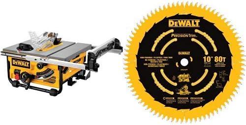 4. Dewalt DW745 Compact Table Saw