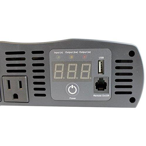 Cobra CPI 1575 1500 Watt 12 Volt DC to 120 Volt AC Power Inverter by Cobra (Image #5)