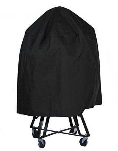 Cowley Canyon Mountain Valley Brand Cover made to fit large Big Green Egg, Kamado Joe Classic and other Kamado Grills. -  Cowley Canyon Sales, LLC, BGEL1A