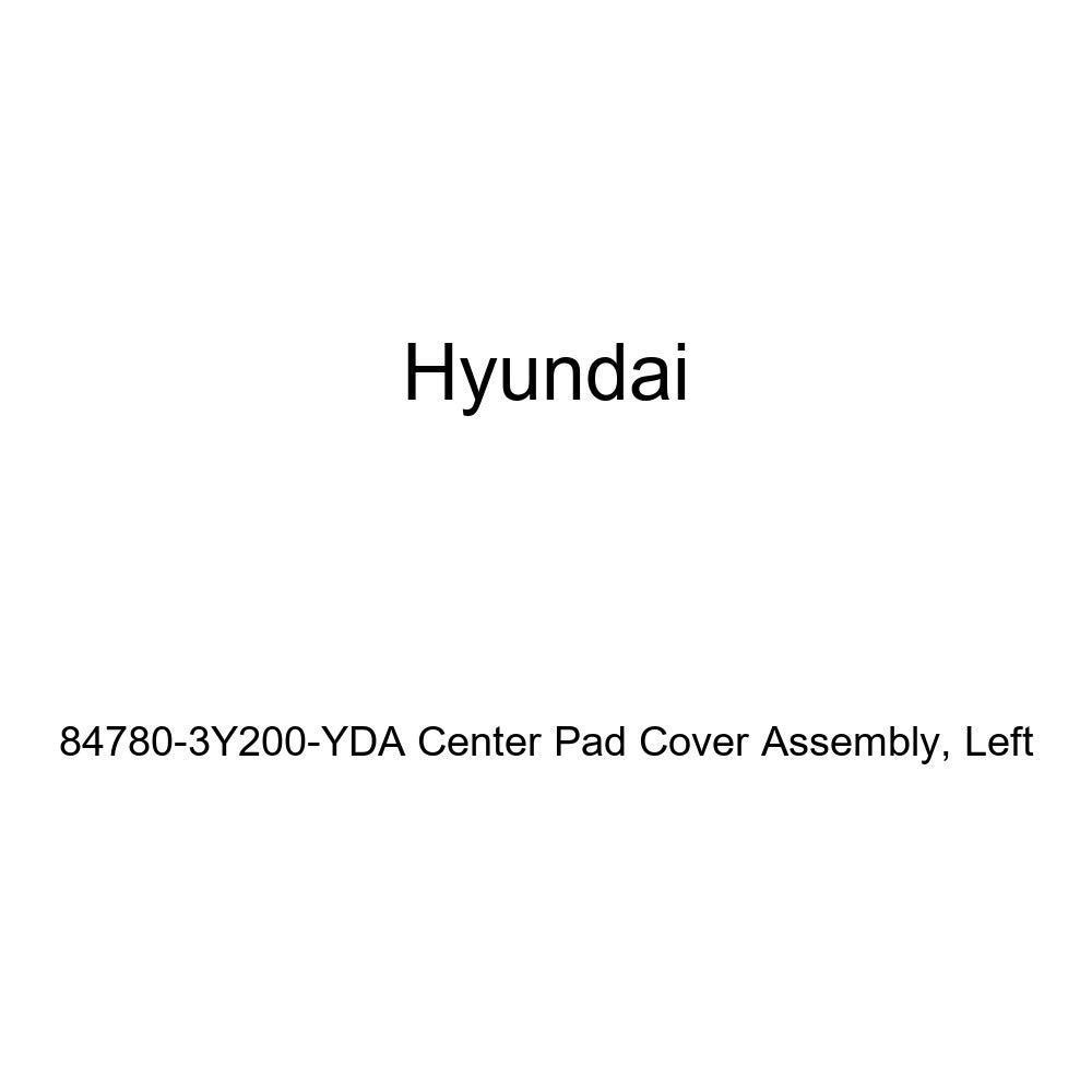 Genuine Hyundai 84780-3Y200-YDA Center Pad Cover Assembly Left