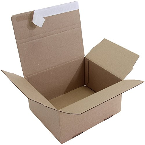 Automatik- Faltkarton 1-wellig, braun, Abm (LxBxH)  210x180x130mm, Qual.1.3B, 400 400 400 Stück B07CLDBS9X   Verkaufspreis  280306