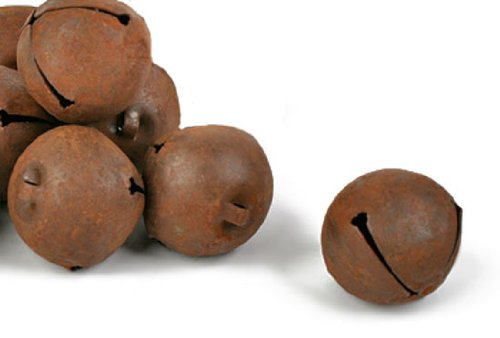 30mm Rusty Metal Jingle Bells (24 Total Bells) Unknown
