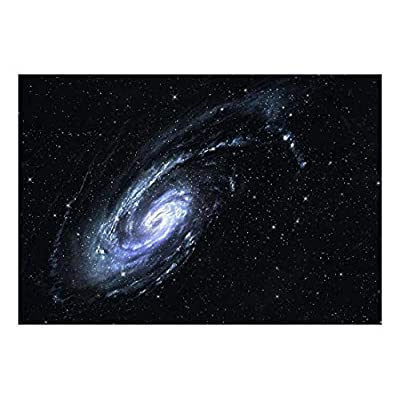 Large Wall Mural - Majestic Scene of The Galaxy | Self-Adhesive Vinyl Wallpaper/Removable Modern Decorating Wall Art - 66
