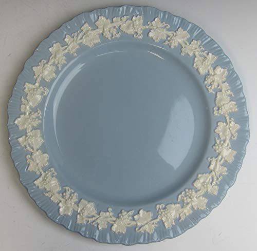 Wedgwood China CREAM ON LAVENDER (SHELL EDGE) Luncheon Plate EXCELLENT