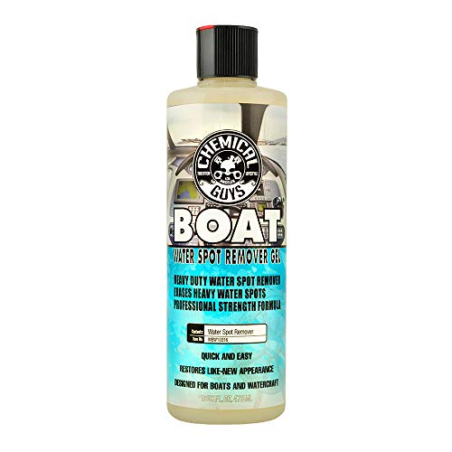 Chemical Guys MBW10316 Marine and Boat Heavy Duty Water Spot Remover Gel (16 oz)