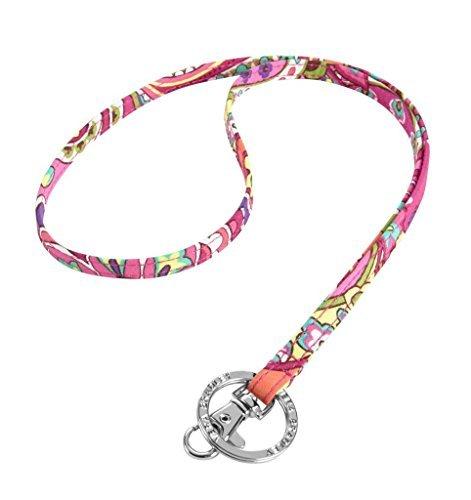 Vera Bradley Women Fashion Lanyard (Pink Swirls) ()