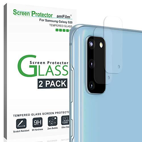 2 Vidrios Templados Para Camara Samsung S20