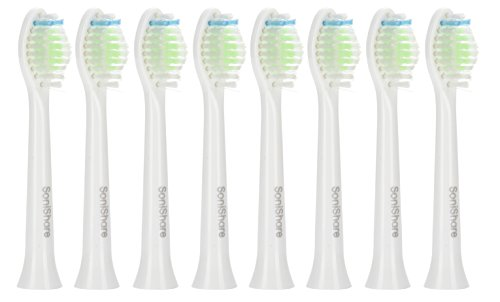 Generic Diamond Clean Replacement Heads for Philips Sonicare Toothbrushes, 12 Pack
