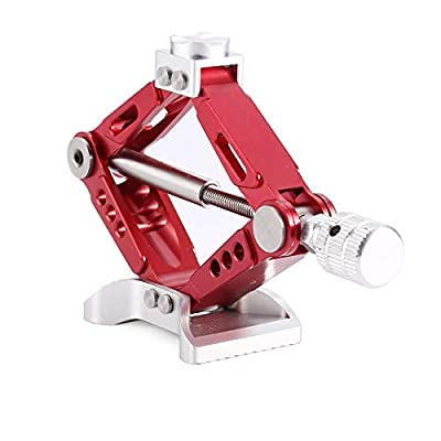 Florenceenid 6 Ton Alloy Adjustable Jack Stand for 1/10 Crawler RC Car RC4WD D90 SCX10
