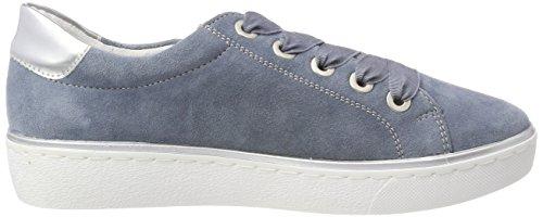 Remonte Damen R5501 Sneaker, Blau (Bleu/Argento), 41 EU
