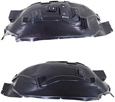 Partomotive For 15-18 F150 Truck Front Splash Shield Inner Fender Liner Left Right Side SET PAIR